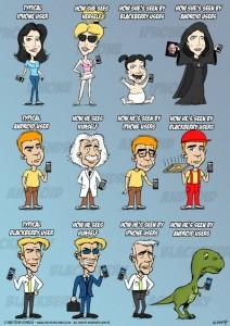 iPhone, Android, Blackberry korisnici